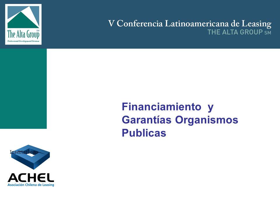 Insertar logo Financiamiento y Garantías Organismos Publicas