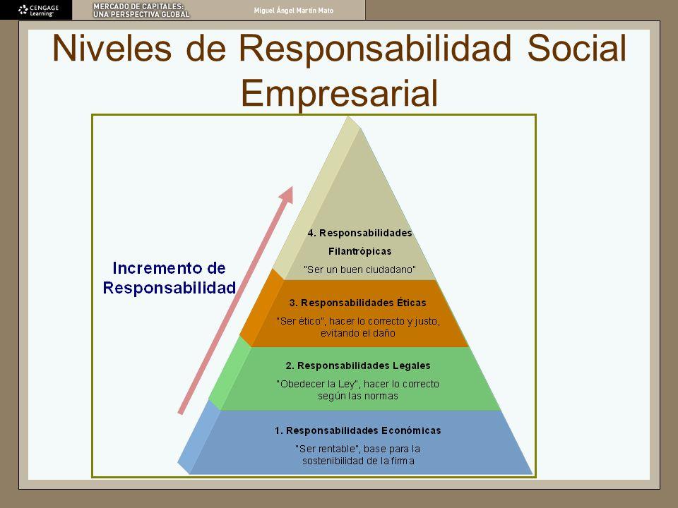 Niveles de Responsabilidad Social Empresarial