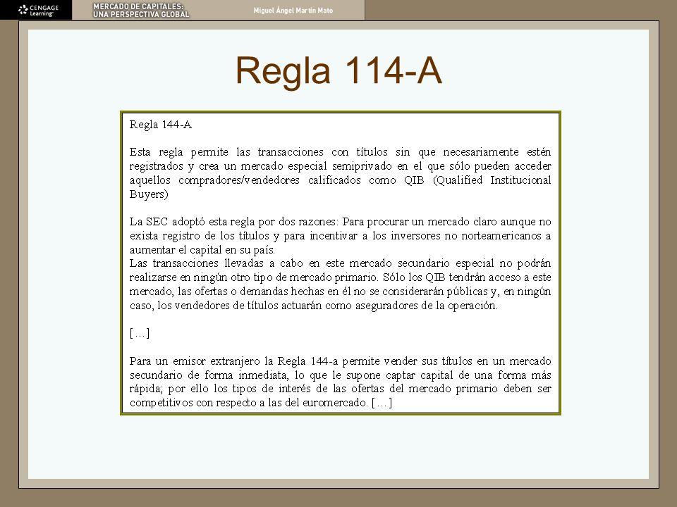 Regla 114-A