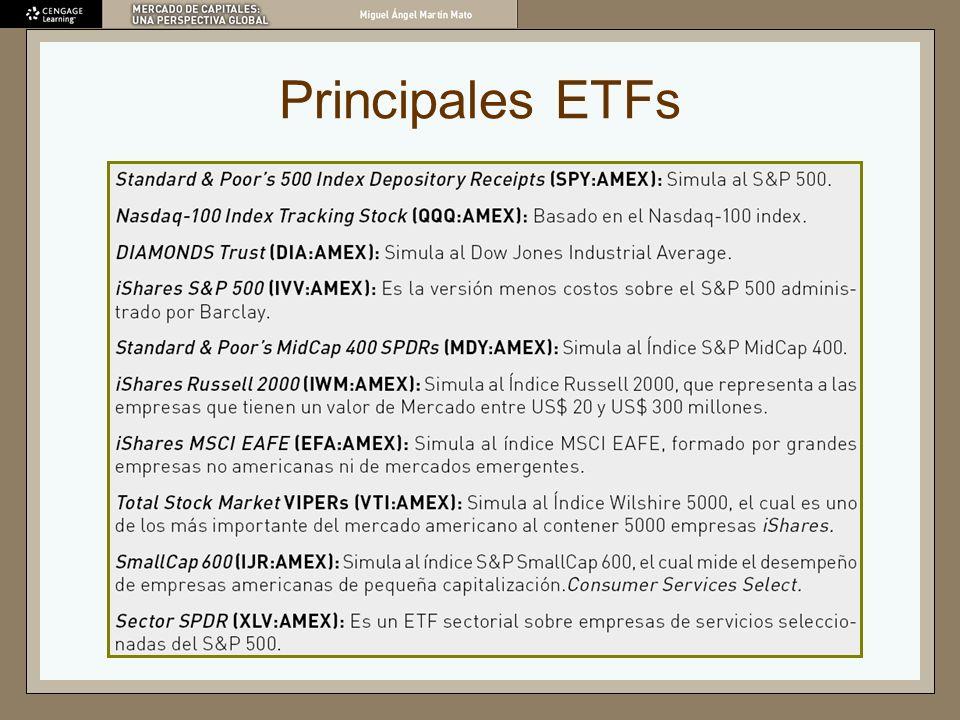 Principales ETFs