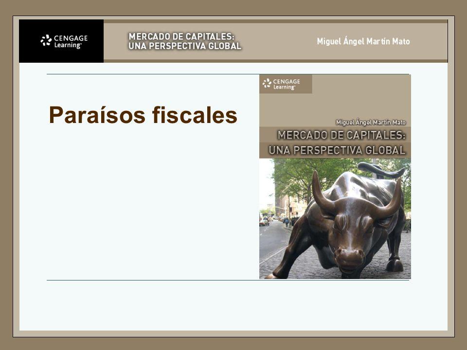 Paraísos Fiscales según la OECD