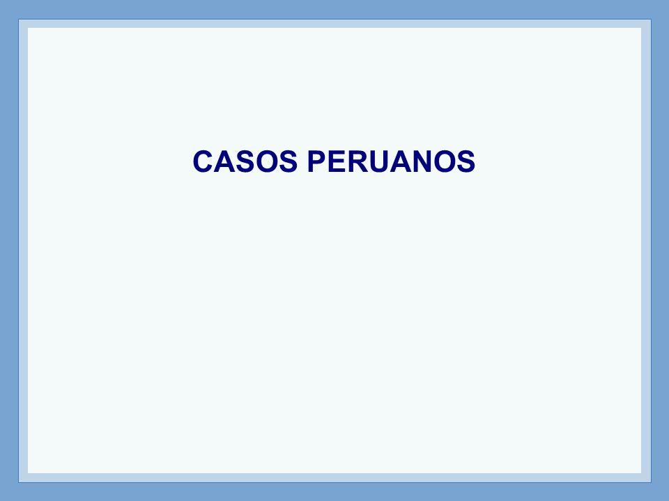 CASOS PERUANOS