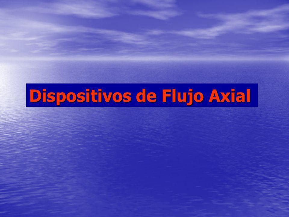Dispositivos de Flujo Axial