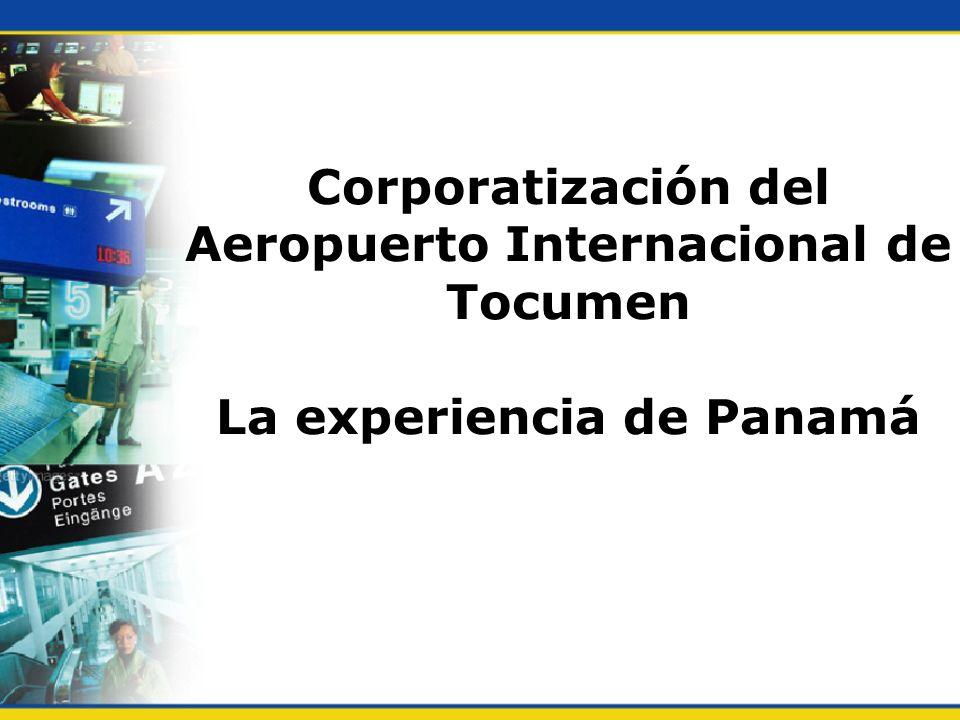 El Aeropuerto Internacional de Tocumen Fue construído en un área de 1,084 hectáreas.