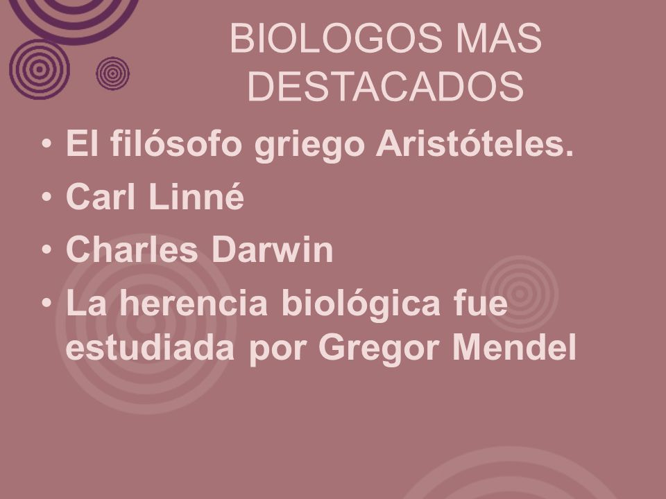 Louis Pasteur Alexander Ivánovich Oparin James Watson y Francis Crack Honrad Lorenz
