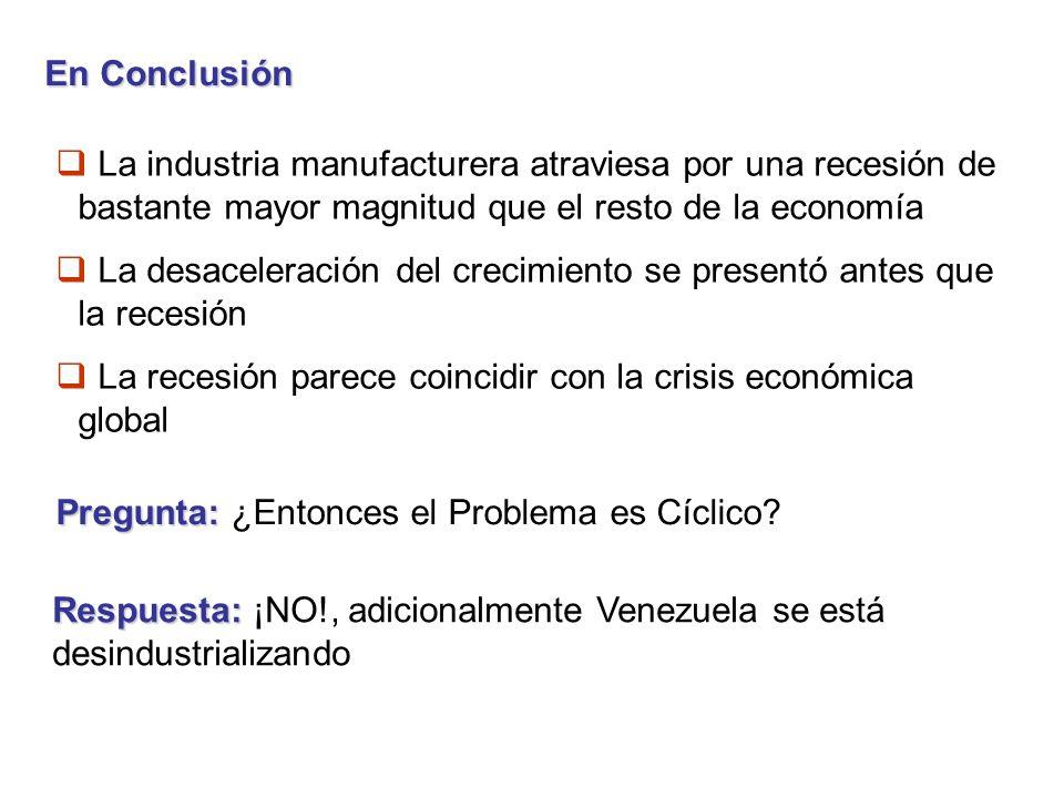 ¿Por que desindustrializarse puede ser es un problema para una economía en desarrollo.