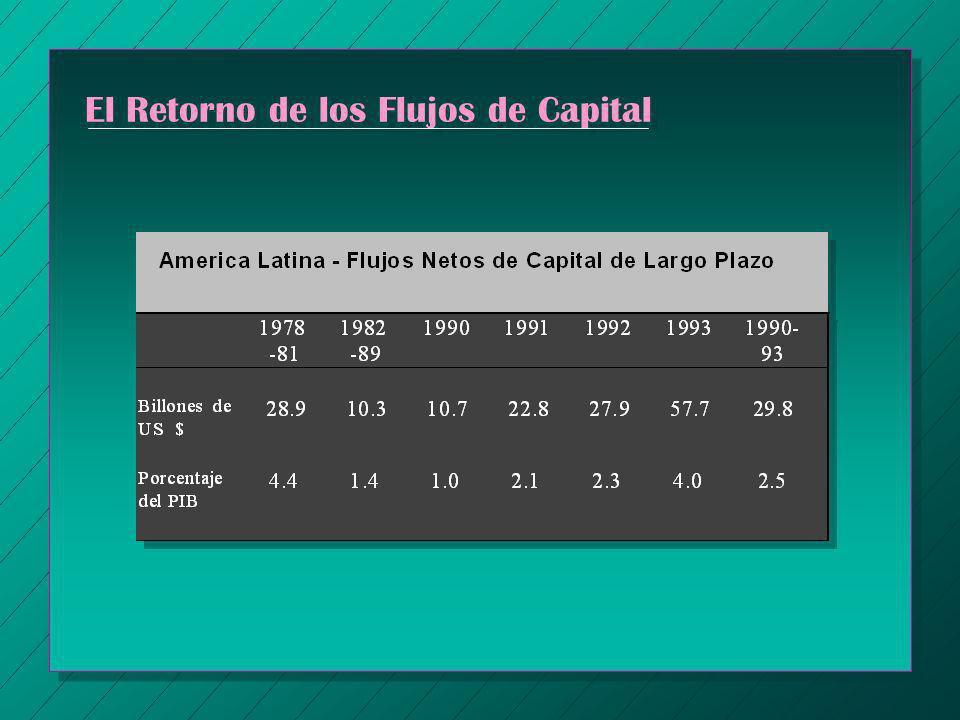 El Retorno de los Flujos de Capital