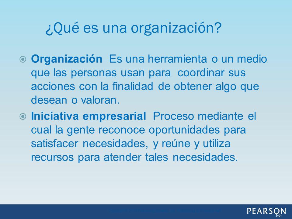 Organización Es una herramienta o un medio que las personas usan para coordinar sus acciones con la finalidad de obtener algo que desean o valoran. In