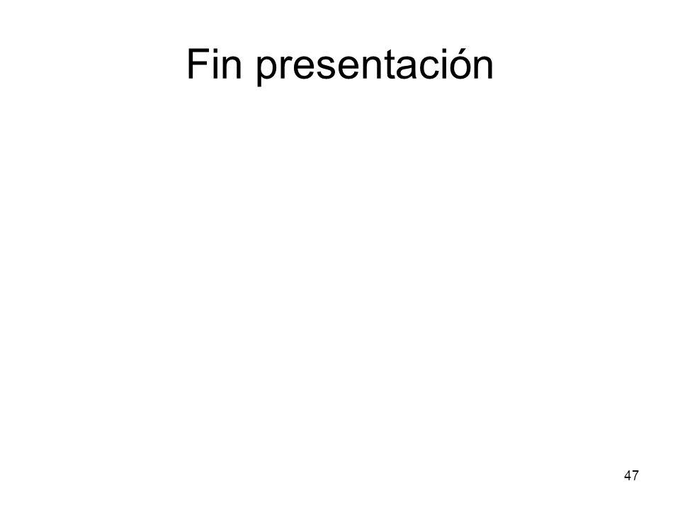 47 Fin presentación