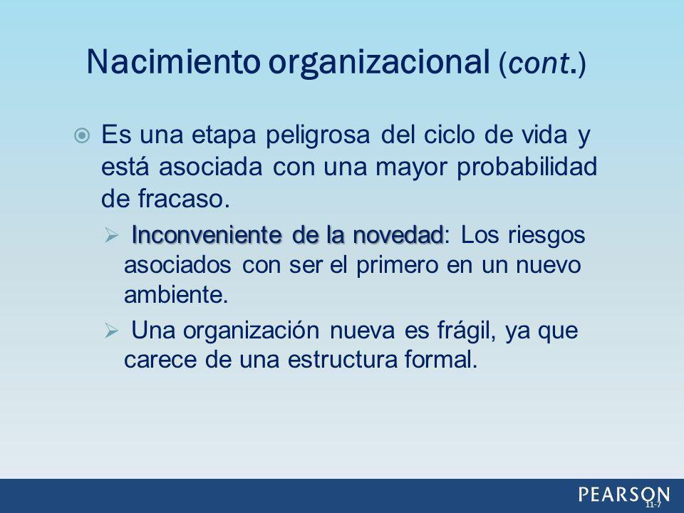 Selección natural: Selección natural: Proceso que asegura la supervivencia de las organizaciones que cuentan con las capacidades y habilidades que se adaptan mejor al ambiente.