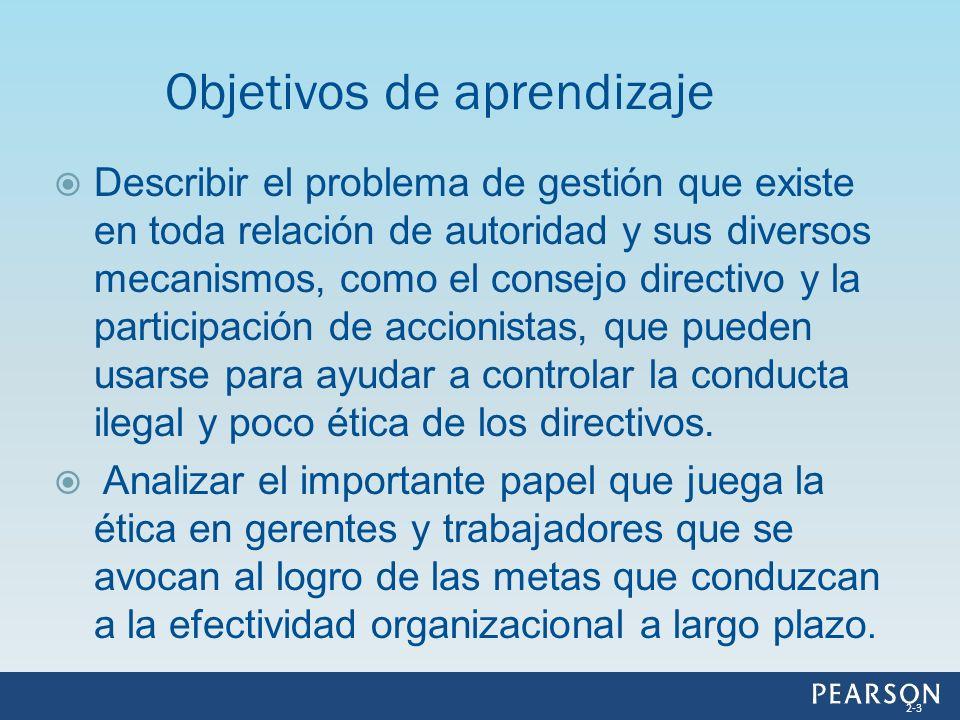 Describir el problema de gestión que existe en toda relación de autoridad y sus diversos mecanismos, como el consejo directivo y la participación de a