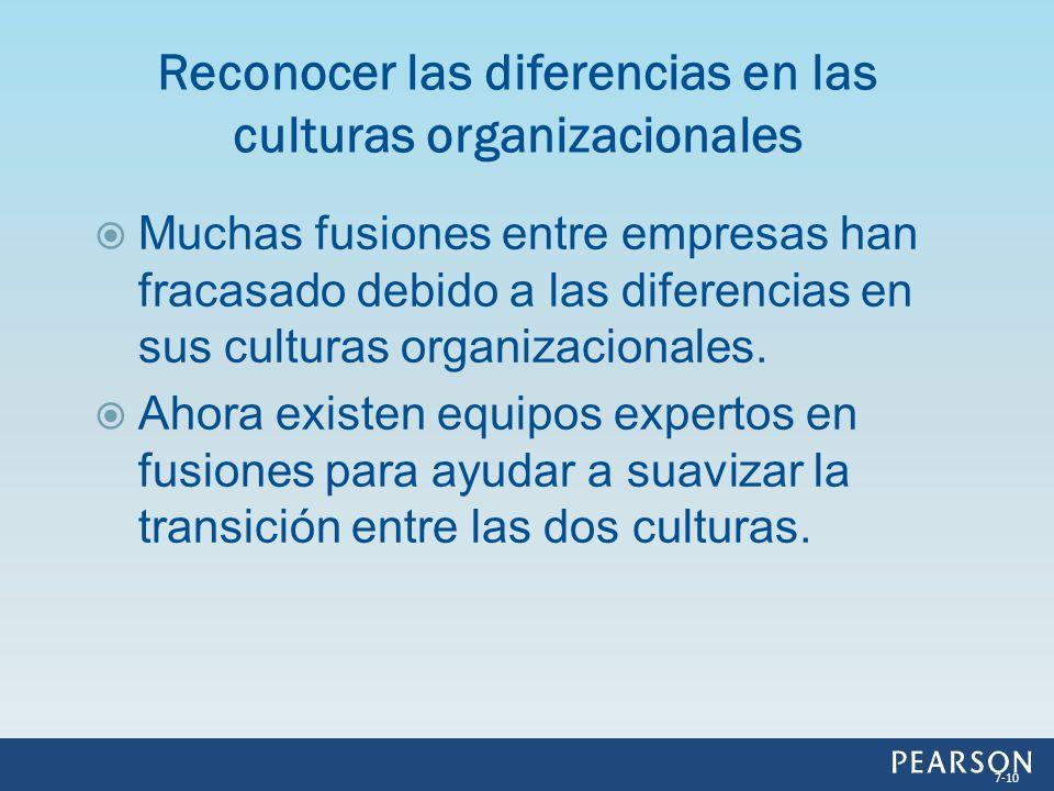 Muchas fusiones entre empresas han fracasado debido a las diferencias en sus culturas organizacionales. Ahora existen equipos expertos en fusiones par