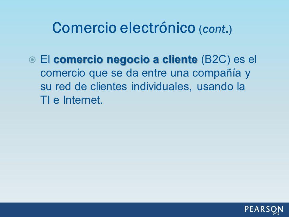 comercio negocio a cliente El comercio negocio a cliente (B2C) es el comercio que se da entre una compañía y su red de clientes individuales, usando l