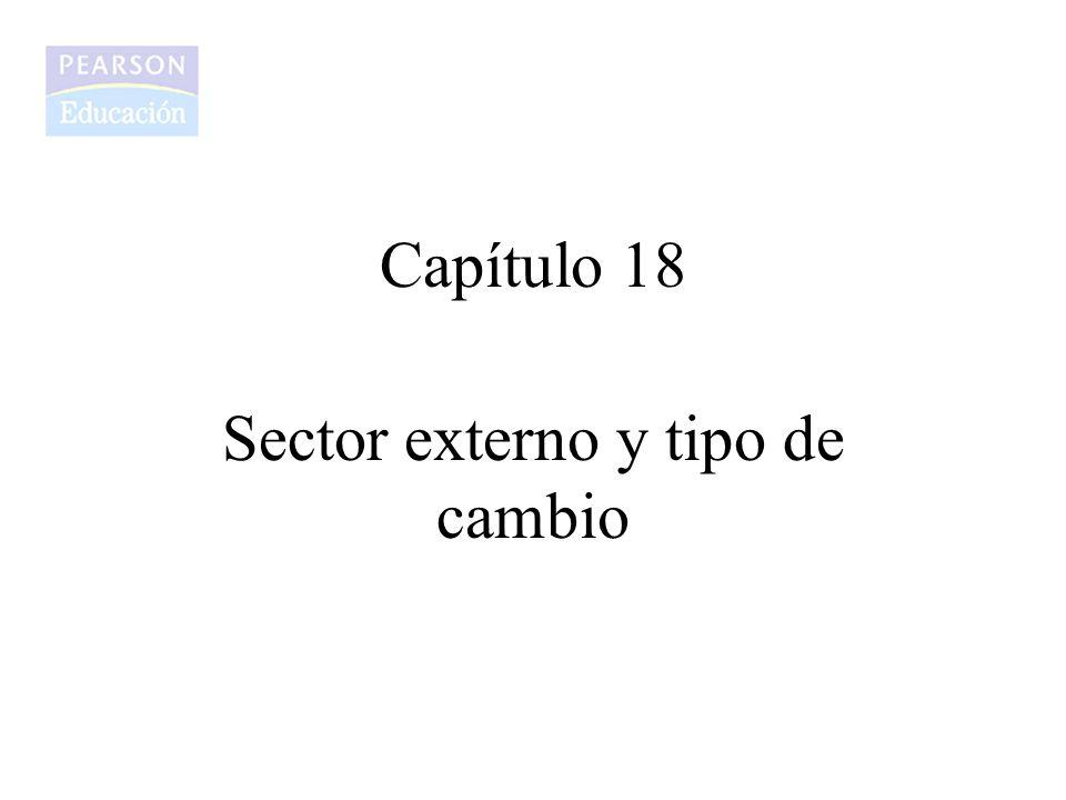 Capítulo 18 Sector externo y tipo de cambio