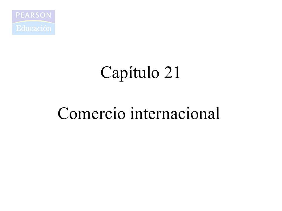 Capítulo 21 Comercio internacional