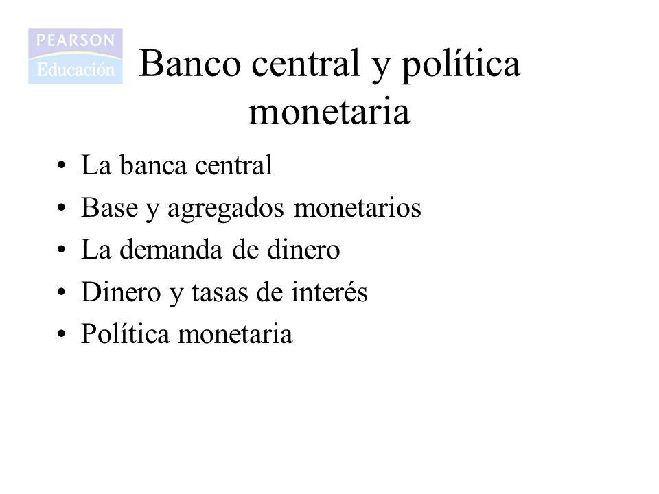 Comentario introductorio En el presente capitulo se analizan las funciones que desempeña el Banco Central como agente regulador de la política monetaria de una país y que tiene una repercusión directa en los niveles de tasas de interés y de inflación de dicho país.