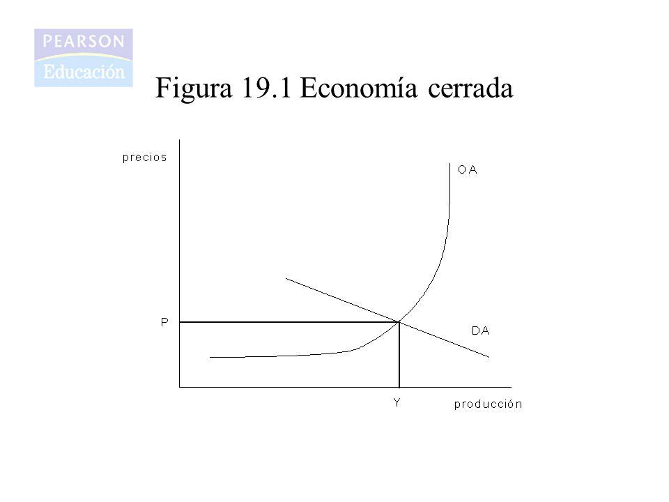 Figura 19.1 Economía cerrada