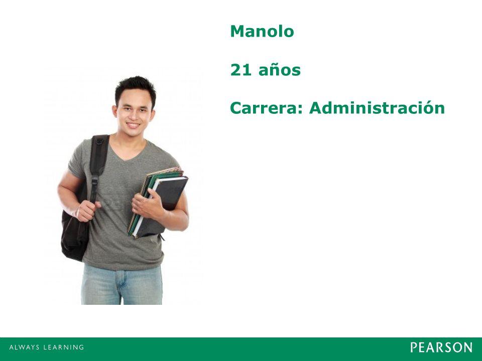 Manolo 21 años Carrera: Administración