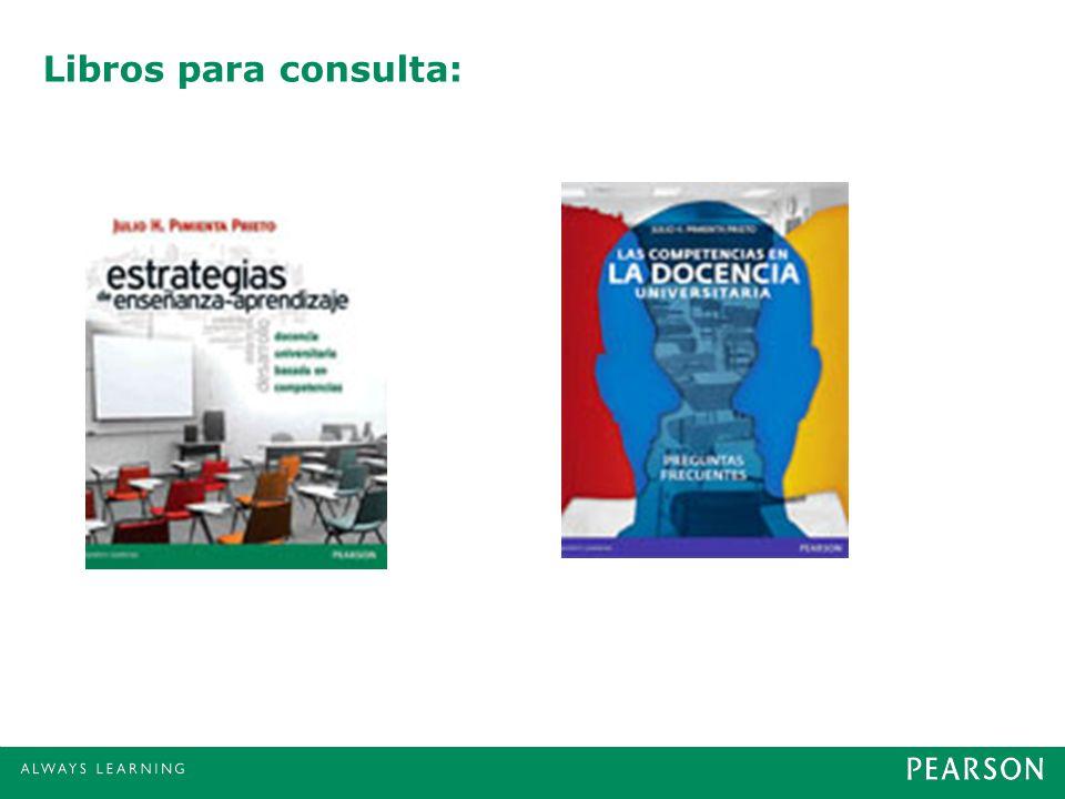 Libros para consulta: