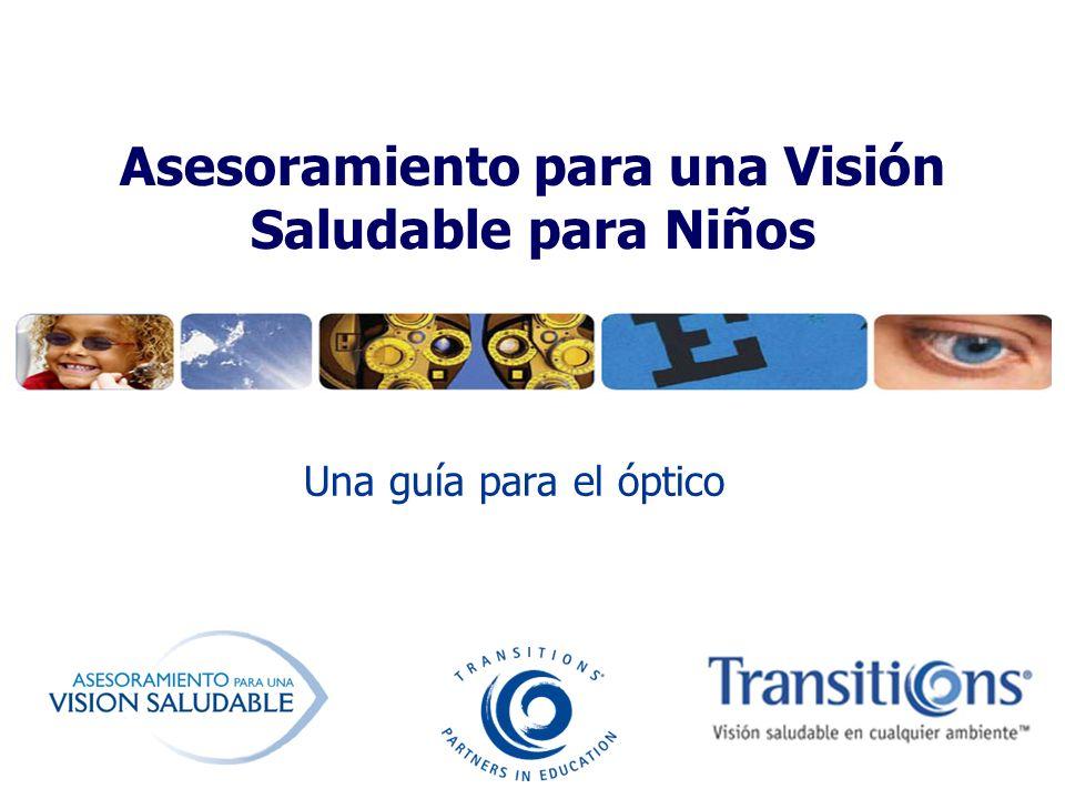 Asesoramiento para una Visión Saludable para Niños Una guía para el óptico