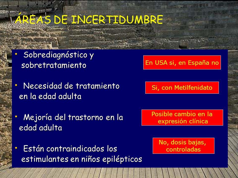 Sobrediagnóstico y Sobrediagnóstico y sobretratamiento sobretratamiento Necesidad de tratamiento Necesidad de tratamiento en la edad adulta en la edad