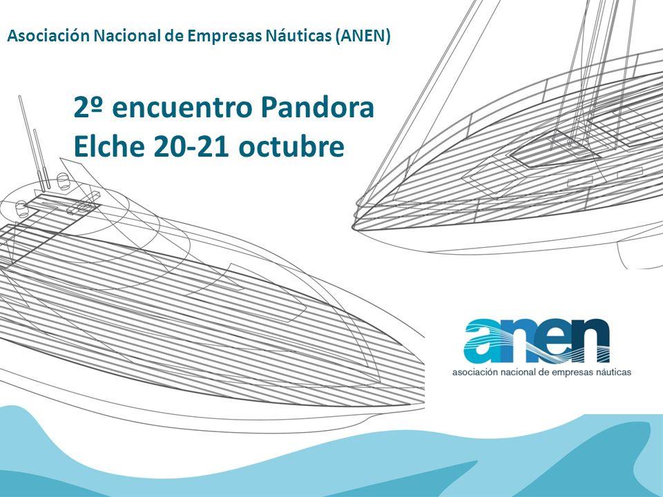 Asociación Nacional de Empresas Náuticas (ANEN) 2º encuentro Pandora Elche 20-21 octubre