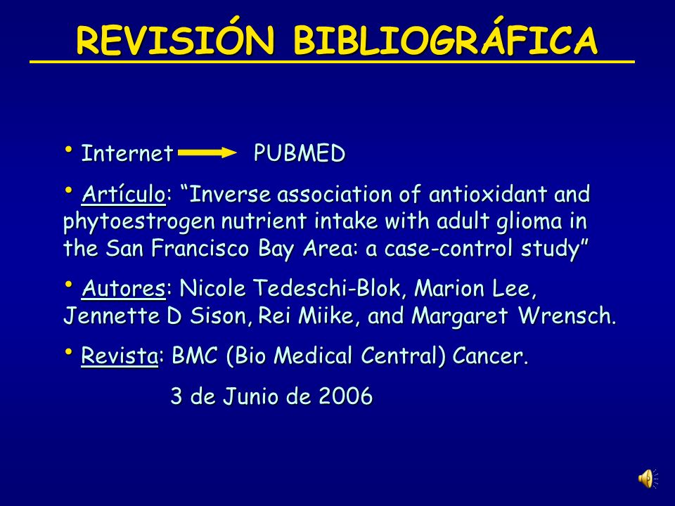 ÍNDICE 1. 1.Revisión bibliográfica 2. 2.Introducción 3. 3.Material y métodos 4. 4.Resultados 5. 5.Discusión 6. 6.Conclusiones 7. 7.Bibliografía
