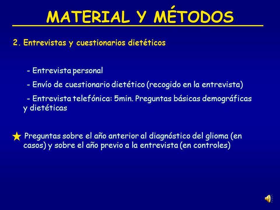 MATERIAL Y MÉTODOS 2.
