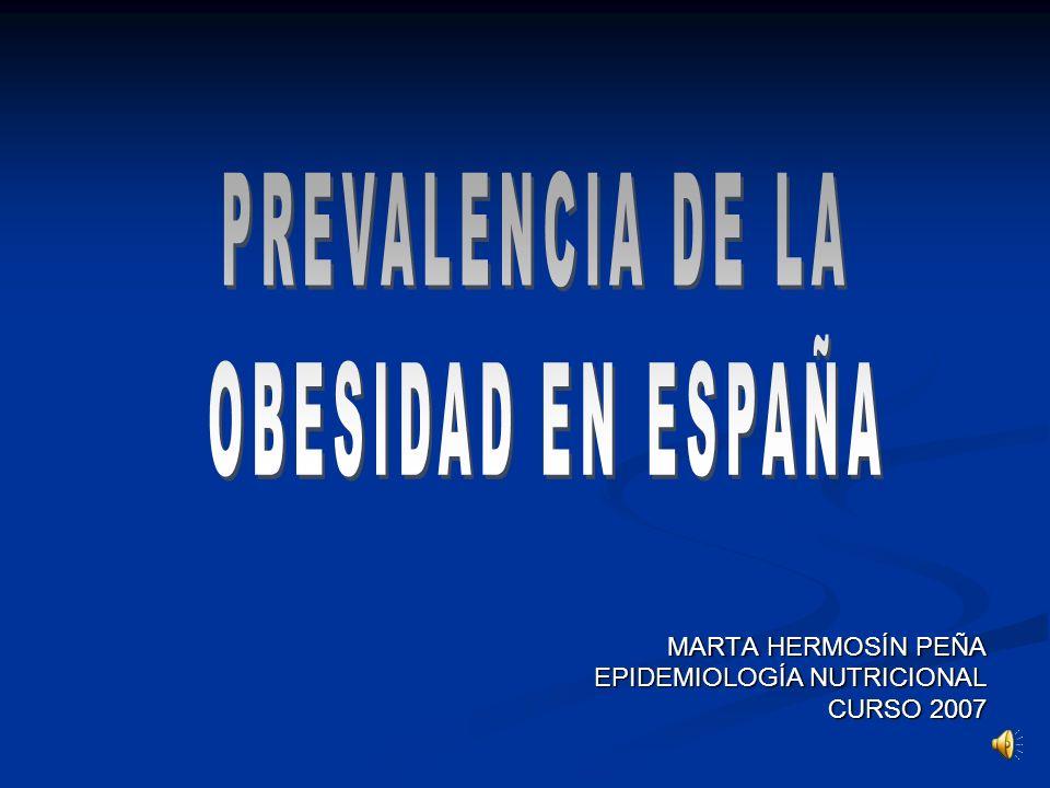 MARTA HERMOSÍN PEÑA EPIDEMIOLOGÍA NUTRICIONAL CURSO 2007
