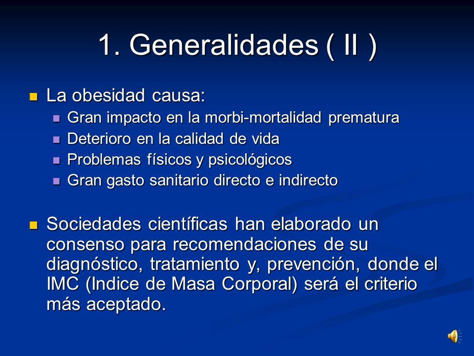 1. Generalidades ( I ) Hoy en día existen en España dos factores de riesgo en la salud pública: Hoy en día existen en España dos factores de riesgo en