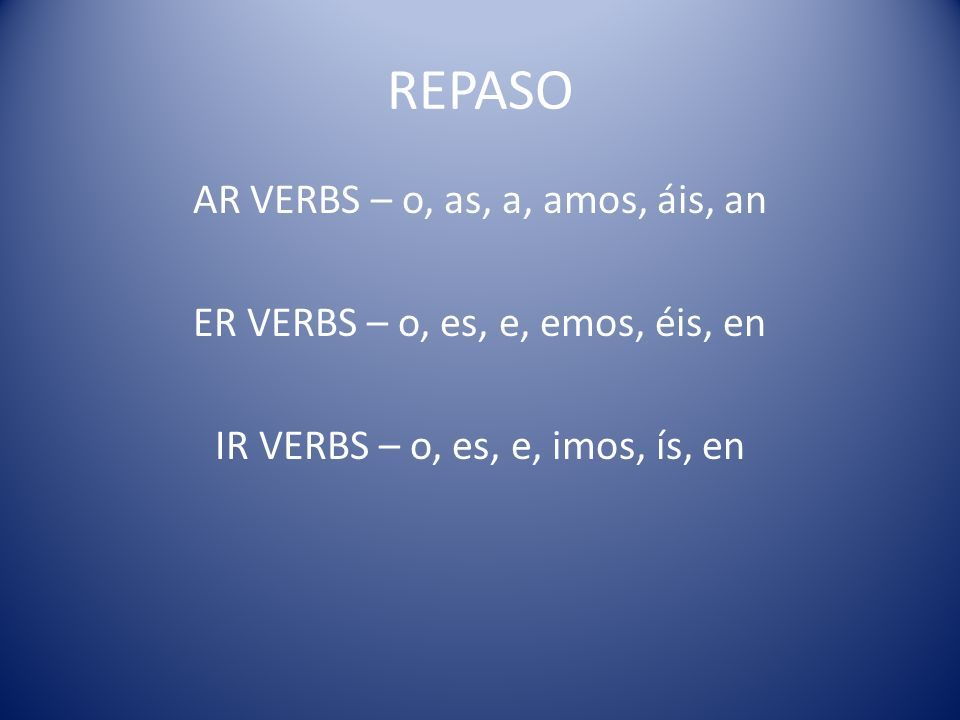 Can you apply the rules to other regular verbs? (worksheet)