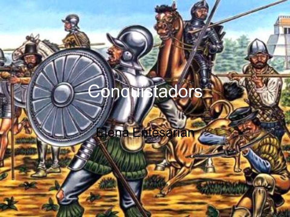 Conquistadors Elena Entesarian