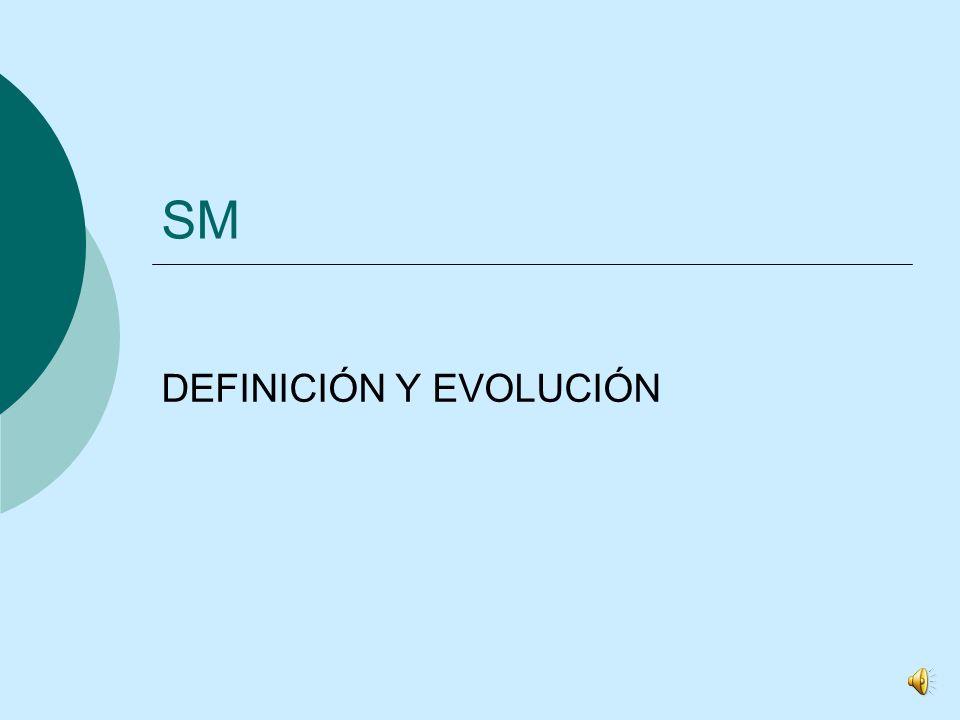 SM DEFINICIÓN Y EVOLUCIÓN