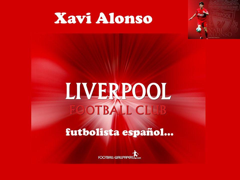 Xavi Alonso futbolista español…