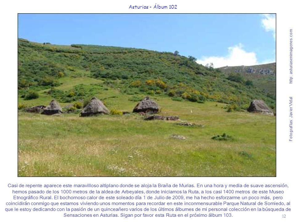 12 Asturias - Álbum 102 Fotografías: Javier Vidal http: asturiasenimagenes.com Casi de repente aparece este maravilloso altiplano donde se aloja la Br