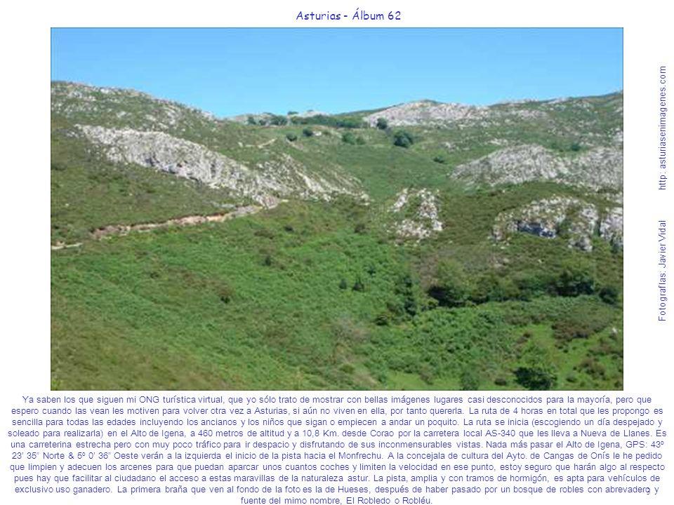 3 Asturias - Álbum 62 Fotografías: Javier Vidal http: asturiasenimagenes.com Ya saben los que siguen mi ONG turística virtual, que yo sólo trato de mo