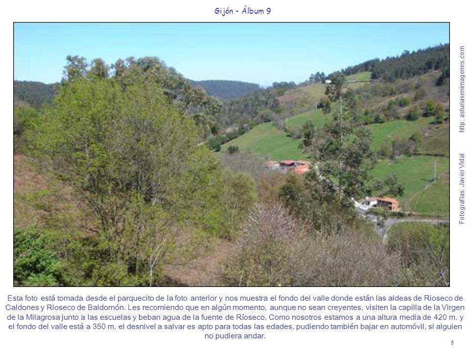 6 Gijón - Álbum 9 Fotografías: Javier Vidal http: asturiasenimagenes.com Esta foto está tomada desde el parquecito de la foto anterior y nos muestra e