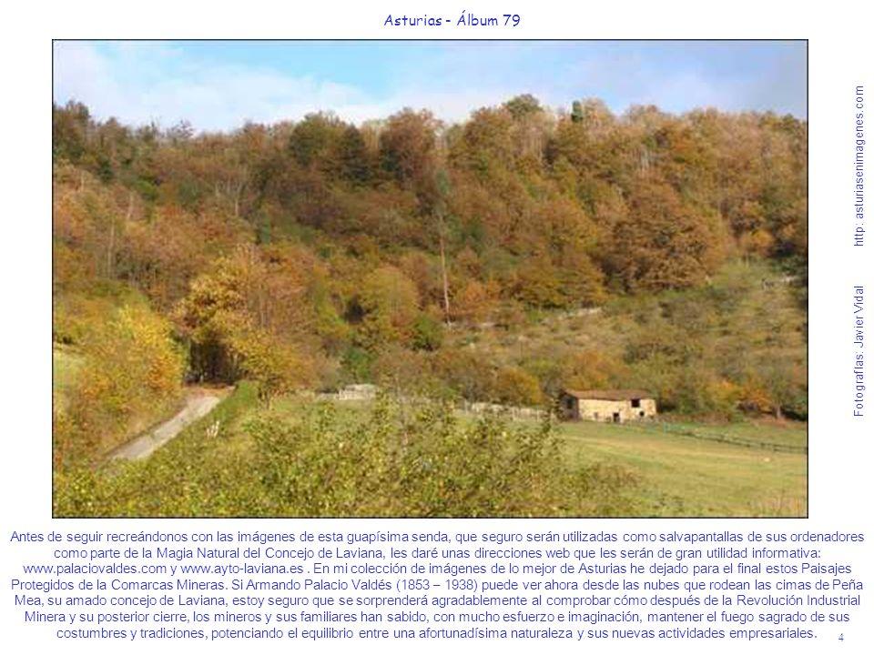 4 Asturias - Álbum 79 Fotografías: Javier Vidal http: asturiasenimagenes.com Antes de seguir recreándonos con las imágenes de esta guapísima senda, qu