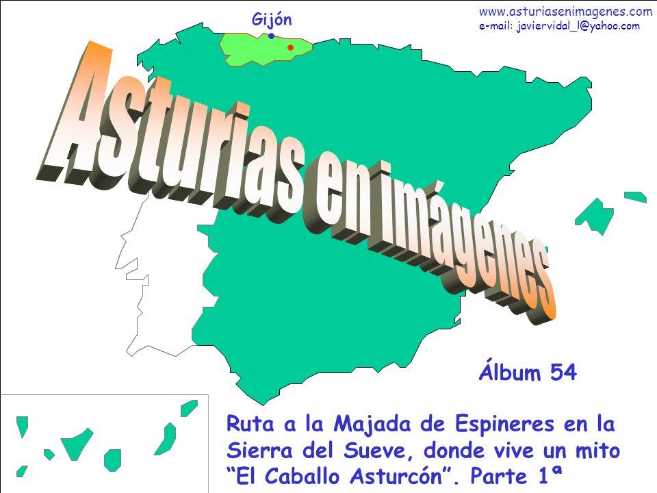 1 Asturias - Álbum ññ Gijón Ruta a la Majada de Espineres en la Sierra del Sueve, donde vive un mito El Caballo Asturcón. Parte 1ª Álbum 54 www.asturi