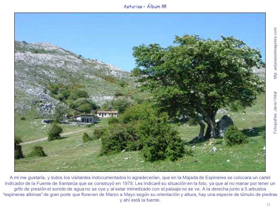 11 Asturias - Álbum ññ Fotografías: Javier Vidal http: asturiasenimagenes.com A mi me gustaría, y todos los visitantes indocumentados lo agradecerían,