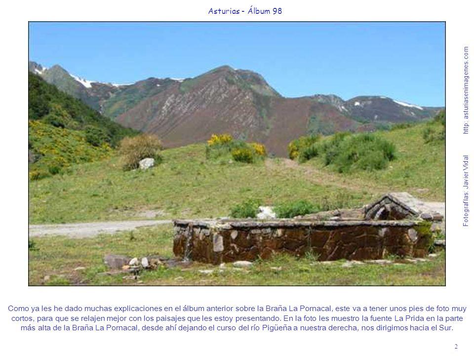 2 Asturias - Álbum 98 Fotografías: Javier Vidal http: asturiasenimagenes.com Como ya les he dado muchas explicaciones en el álbum anterior sobre la Br