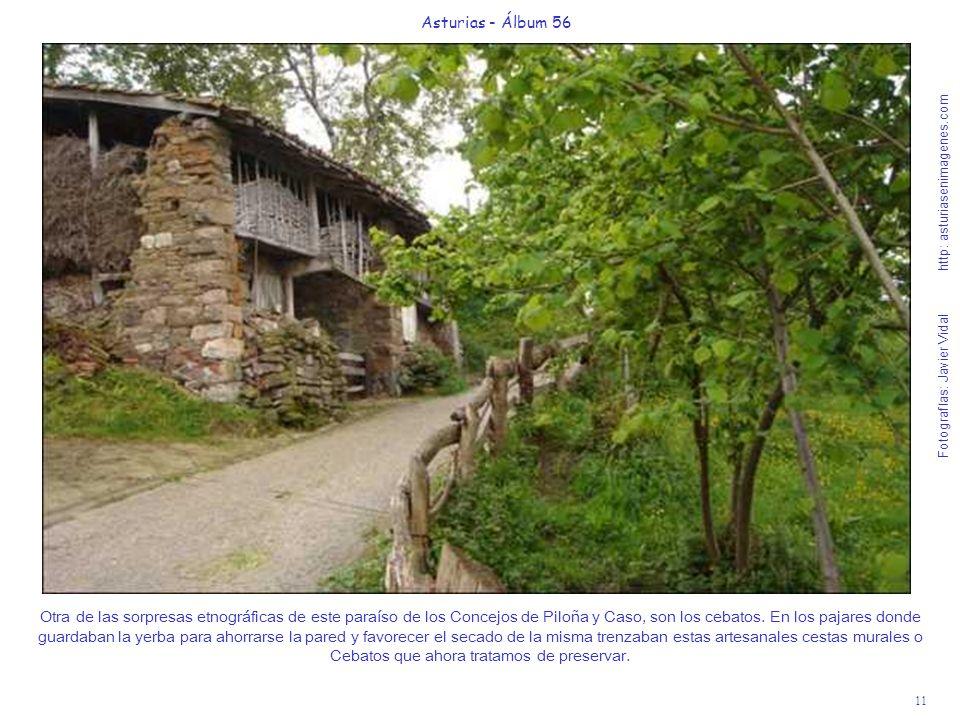 11 Asturias - Álbum 56 Fotografías: Javier Vidal http: asturiasenimagenes.com Otra de las sorpresas etnográficas de este paraíso de los Concejos de Pi