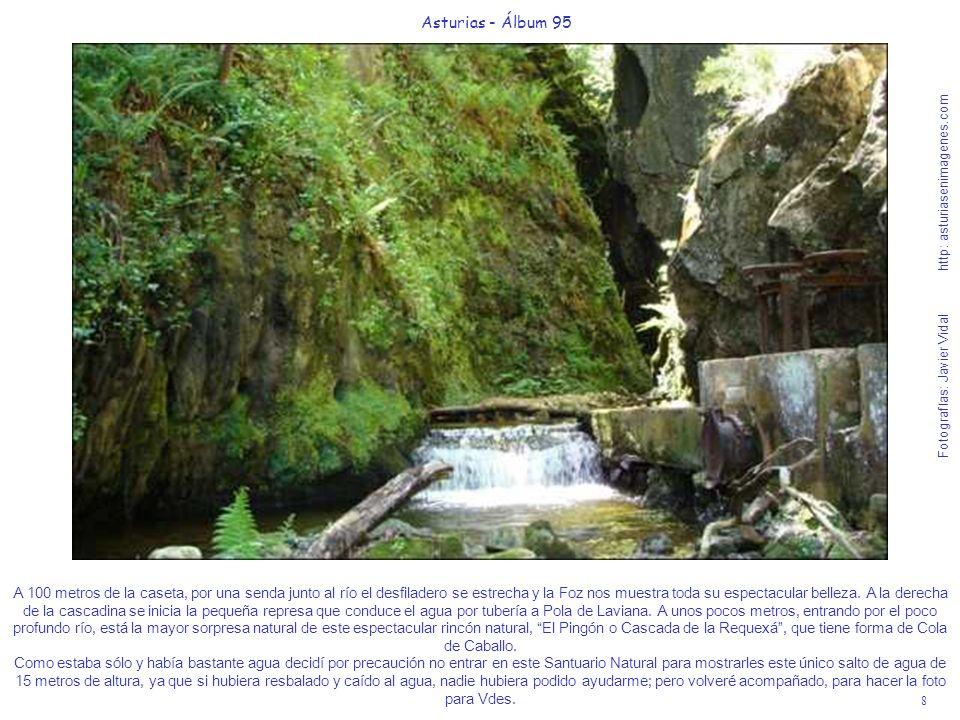 9 Asturias - Álbum 95 Fotografías: Javier Vidal http: asturiasenimagenes.com A 600 metros del cruce de la pista que se dirige a las Foces del Raigosu, por una carreterina asfaltada llegarán a la aldeina de cuento de Fomermeya o Fombermeya, donde nació la madre de mi amigo y colaborador EIoү Βarbōn y que está a 495 metros de altitud.