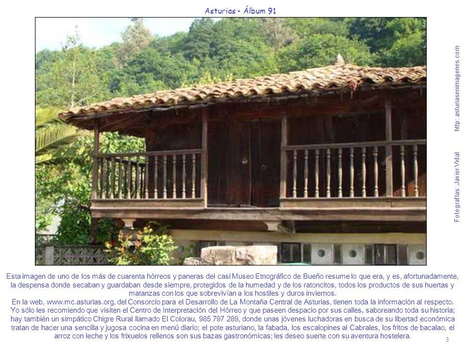 3 Asturias - Álbum 91 Fotografías: Javier Vidal http: asturiasenimagenes.com Esta imagen de uno de los más de cuarenta hórreos y paneras del casi Muse