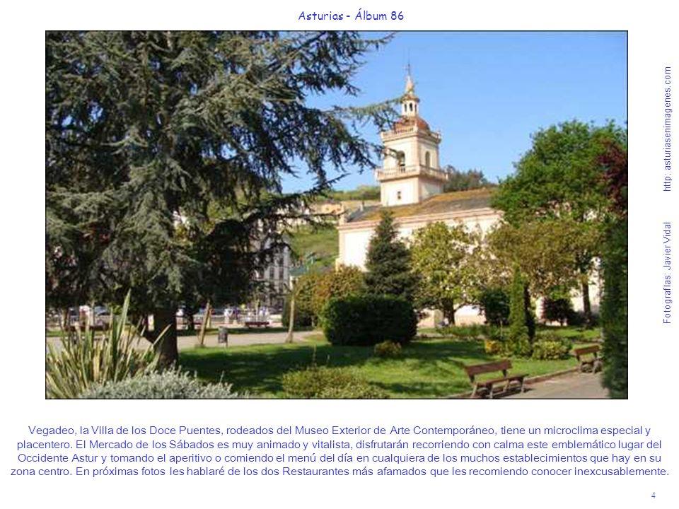 4 Asturias - Álbum 86 Fotografías: Javier Vidal http: asturiasenimagenes.com Vegadeo, la Villa de los Doce Puentes, rodeados del Museo Exterior de Art