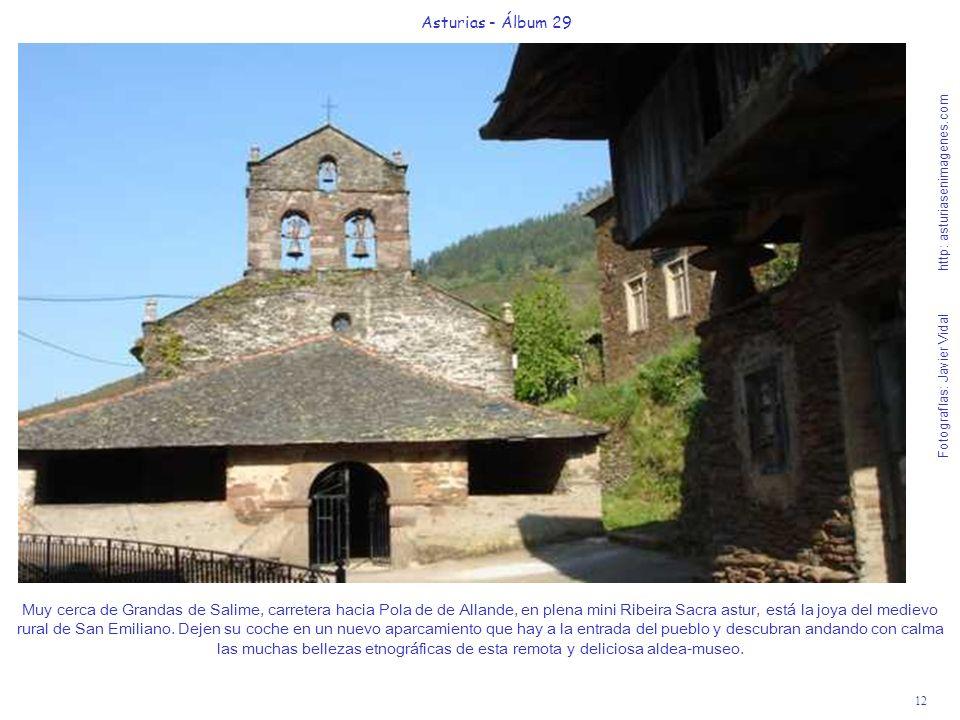 12 Asturias - Álbum 29 Fotografías: Javier Vidal http: asturiasenimagenes.com Muy cerca de Grandas de Salime, carretera hacia Pola de de Allande, en p