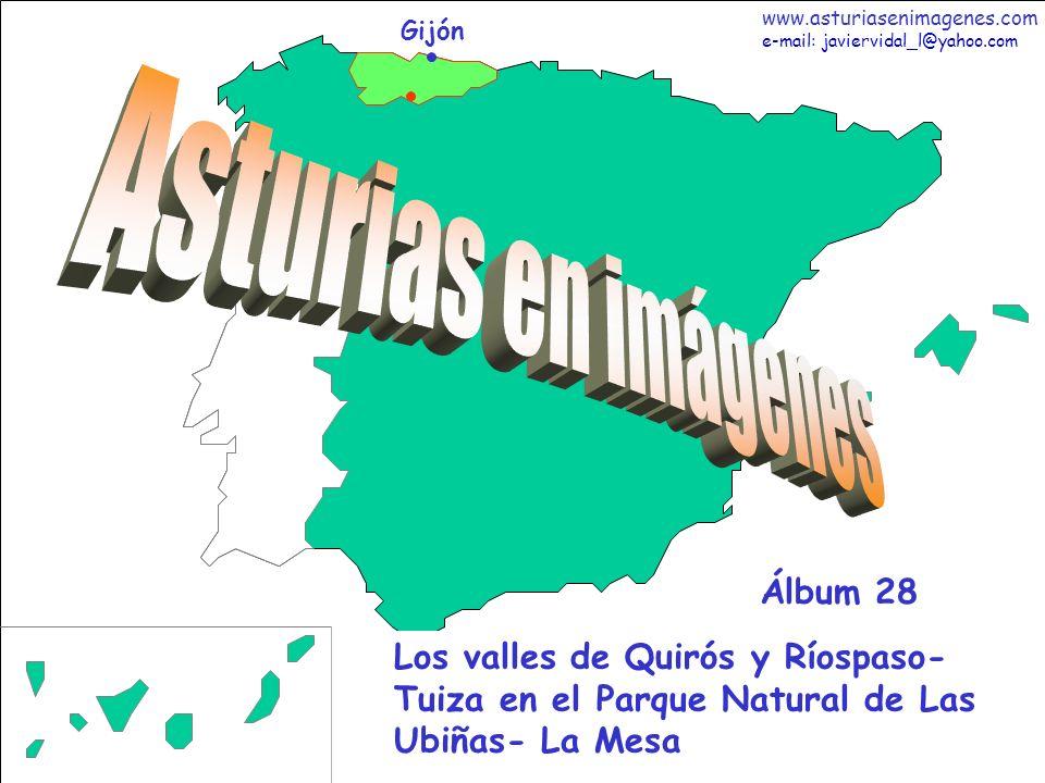 1 Asturias - Álbum 28 Gijón Los valles de Quirós y Ríospaso- Tuiza en el Parque Natural de Las Ubiñas- La Mesa Álbum 28 www.asturiasenimagenes.com e-m