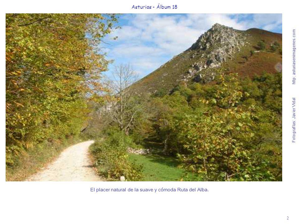 2 Asturias - Álbum 18 Fotografías: Javier Vidal http: asturiasenimagenes.com El placer natural de la suave y cómoda Ruta del Alba.