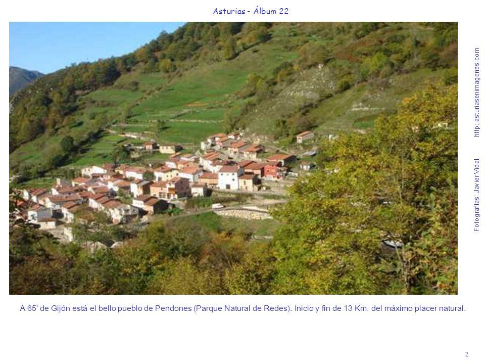 3 Asturias - Álbum 22 Fotografías: Javier Vidal http: asturiasenimagenes.com Las 3h.45 de suave caminar (ida y vuelta) hacia la Vega Baxu nos emocionarán con su belleza natural.