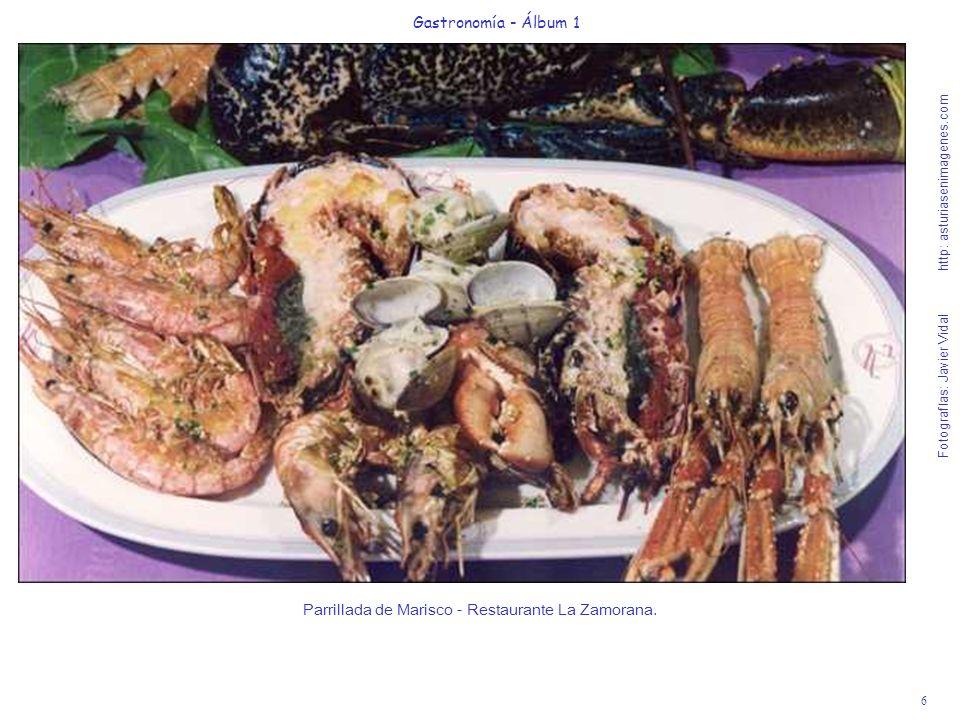 7 Gastronomía - Álbum 1 Fotografías: Javier Vidal http: asturiasenimagenes.com Chipirones de Potera con Cebolla Confitada - Restaurante Casa Victor.